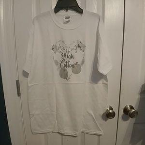 Walking in High Cotton tshirt